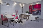 Viviana Malave designed a modern, feminine living room at the Miami Home Show (PRNewsFoto/Ft. Lauderdale Home Design and R)