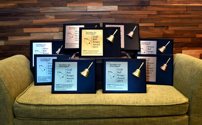 The Publicity Club of New England recognizes SHIFT for excellence in client campaigns