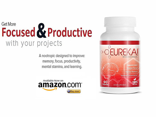A revolutionary proprietary blend that not only improves memory and concentration but has long lasting, mental benefits to advance the overall long-term health of the brain by providing all-in-one nutrients.  (PRNewsFoto/Eureka Brands LLC)