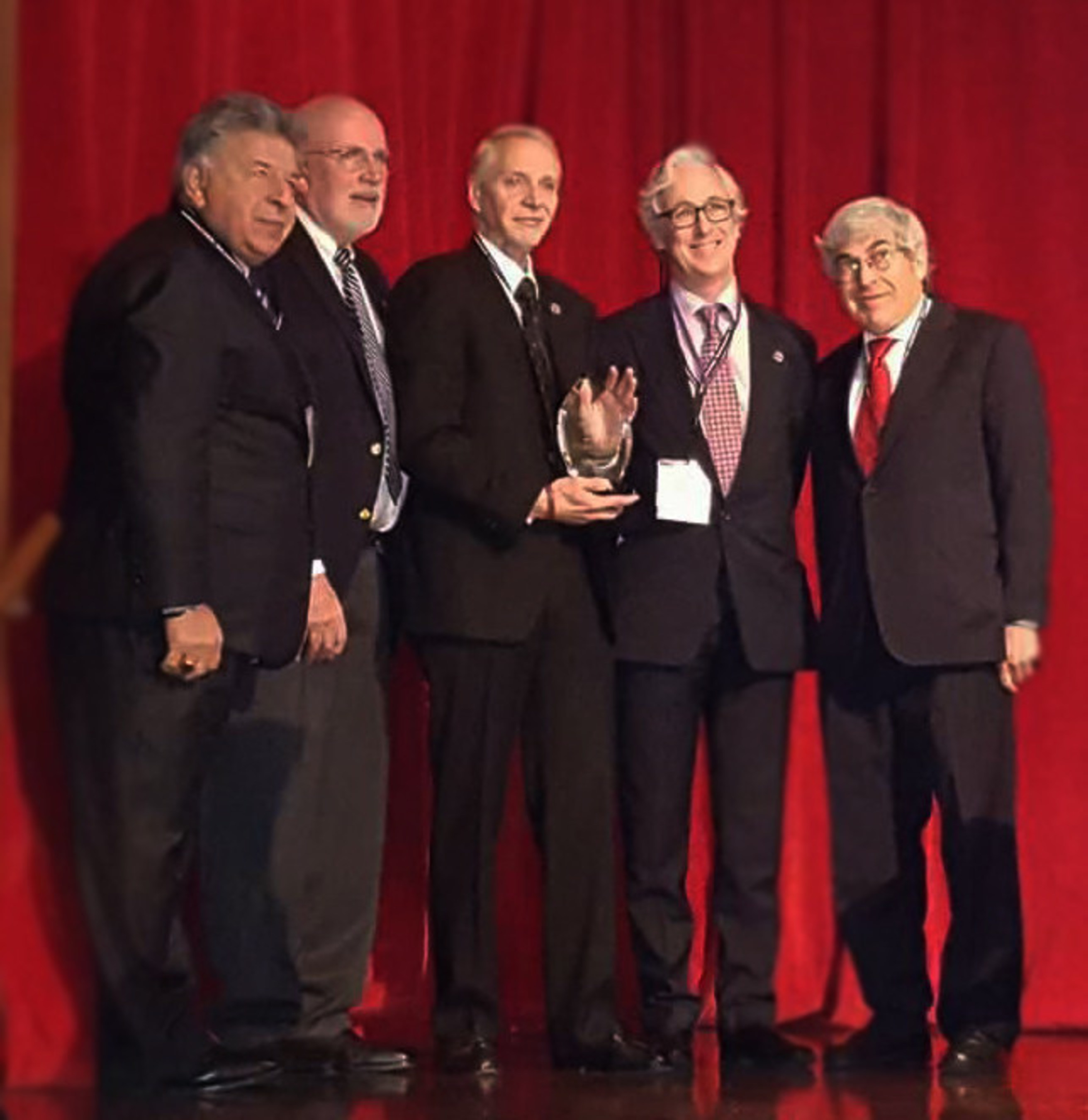 The Oral Cancer Foundation's Founder, Brian R. Hill, honored by the Global Oral Cancer Forum