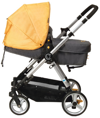 CONTOURS ANNOUNCES FIRST ALL-IN-ONE CONVERTIBLE STROLLER.  (PRNewsFoto/Kolcraft Enterprises)
