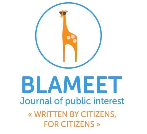 Blameet Logo (PRNewsFoto/BLAMEET) (PRNewsFoto/BLAMEET)