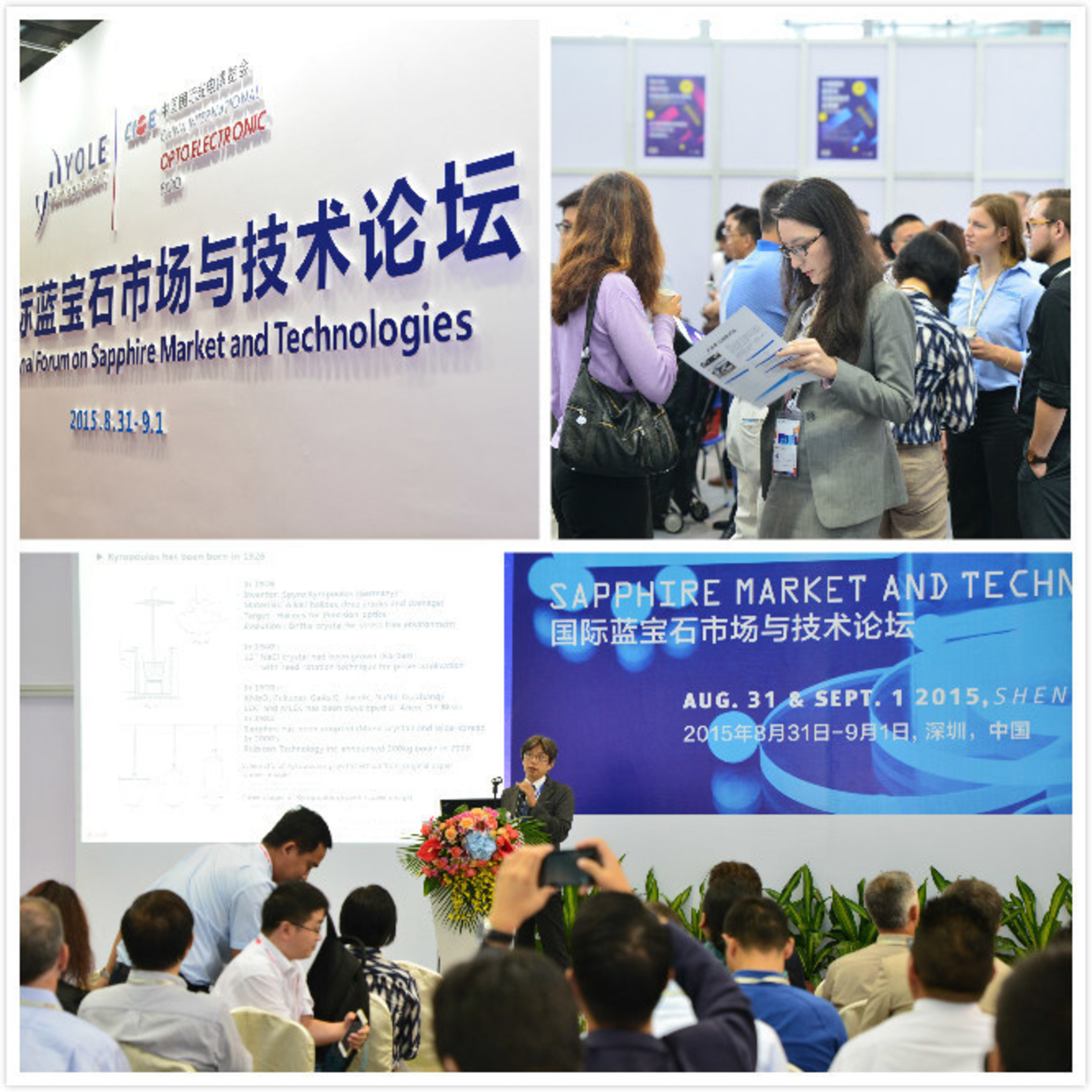 Tremendous Success for the First International Conference on Sapphire and its Applications