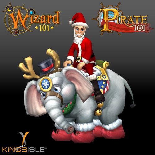 The Holidays Come To The Spiral In KingsIsle Games!
