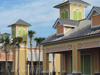AZEK Trim and Mouldings were used throughout the Sweetbay grocery store and Pinellas Plaza in The Villages near Wildwood, Florida.  (PRNewsFoto/AZEK Building Products)