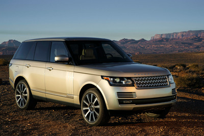 The 2013 Land Rover Range Rover achieves the highest APEAL score of any model in its segment in J.D. Power 2013 APEAL Study.  (PRNewsFoto/Jaguar Land Rover North America, LLC)