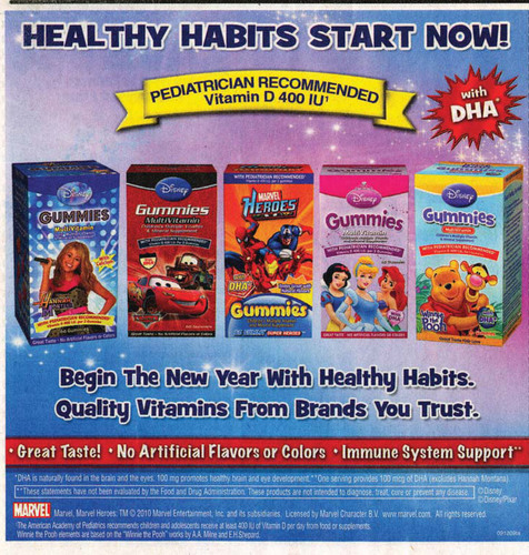 FTC Settlement Prohibits Marketers of Children's Vitamins From Making Deceptive Health Claims About