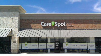 CareSpot urgent care center in Cedar Park: 905 East Whitestone Boulevard, Suite B, Cedar Park, Texas (Cedar Park Town Center near Costco, at Whitestone Boulevard and Toll 183A). Open 8am - 8pm, 7 days a week. Fifth CareSpot in Austin area. (PRNewsFoto/CareSpot)