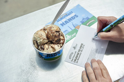 Ben & Jerry's Scoops up National Voter Registration Day