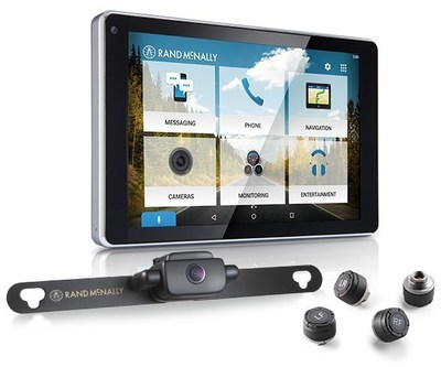 OverDryve is compatible with Rand McNally's wireless backup camera and tire pressure monitoring system.