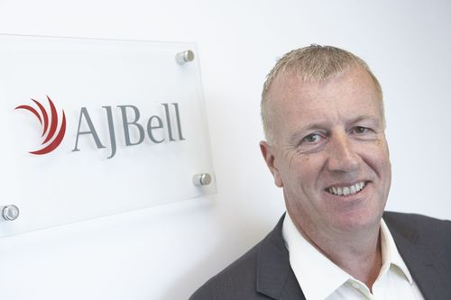 Andy Bell, Chief Executive of AJ Bell (PRNewsFoto/AJ Bell)