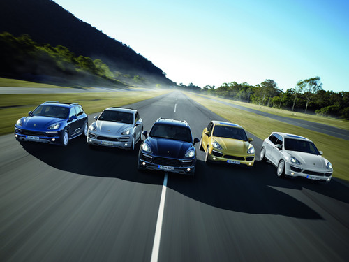 The Porsche Cayenne is Motor Trend's 2011 Sport/Utility of the Year®