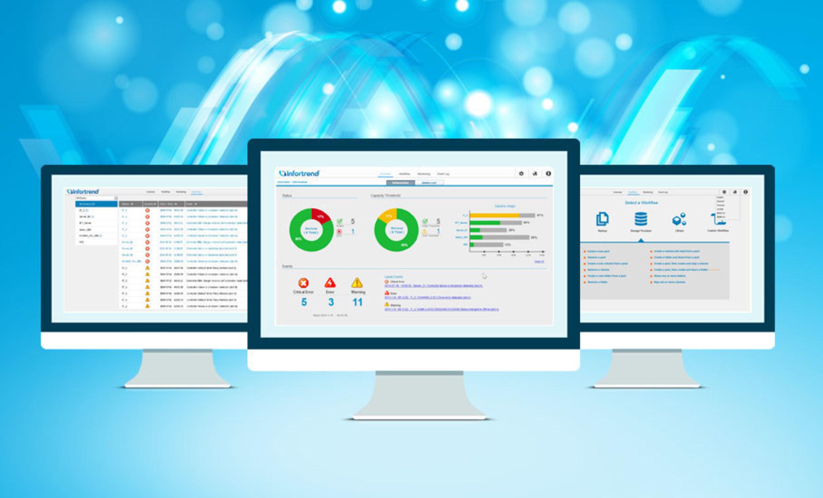 Infortrend представляет обновленное решение EonOne для централизированного управления EonNAS