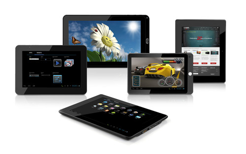 Coby Electronics Announces Debut Collection of Android 4.0 OS Internet Tablets