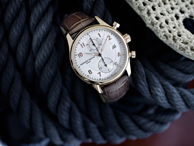 New Runabout Chronograph Automatic by Frederique Constant