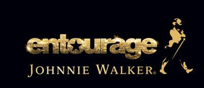 Johnnie Walker & Entourage logo.