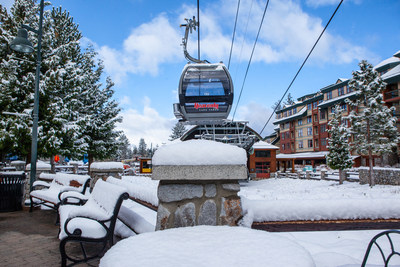 Early season snow blankets Heavenly, which will open six days ahead of its originally scheduled opening. Heavenly, in addition to Northstar and Kirkwood, have already received about three feet of snow this pre-season.