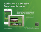 Through the Treatment is Hope website and mobile app, we want to spread the message of recovery and show addicts that treatment works.  (PRNewsFoto/Seabrook House)