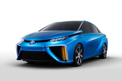 SOURCE: Toyota Fuel Cell Vehicle Concept. (PRNewsFoto/Toyota Motor Sales, U.S.A. Inc.) (PRNewsFoto/TOYOTA MOTOR  ...