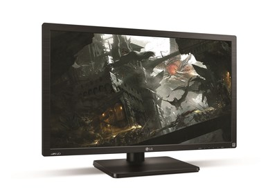 The new LG 4K ULTRA HD monitor (model 27MU67) is specifically designed to provide a premium gaming experience, boasting a large viewing area and a 3840 x 2160 screen resolution for an eye-popping level of 4K visual detail.