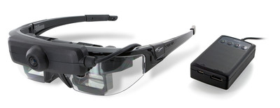 The STAR 1200XLD Augmented Reality (AR) glasses by Vuzix. These are the top selling AR glasses on the market, used by researchers internationally in developing new AR applications.  (PRNewsFoto/Vuzix Corporation)