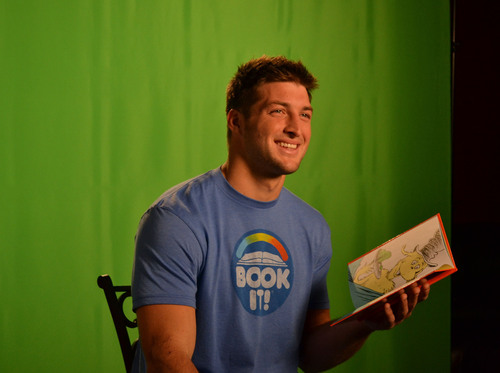 Tim has partnered with BOOK IT!, the reading incentive program sponsored by Pizza Hut, to host America's ...
