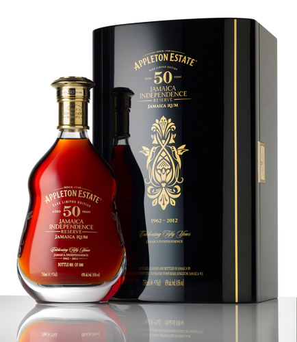Appleton Estate 50 Year Old Jamaica Rum - Jamaica Independence Reserve.  (PRNewsFoto/Appleton Estate Jamaica Rum)