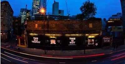 Animal Welfare Organisation Unveils Street Mural to Make a Stand Against Trophy Hunting