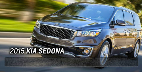 The 2015 Kia Sedona embodies Kia's progressive styling as the minivan moves into the next generation. (PRNewsFoto/ Bill Jacobs Automotive Group)