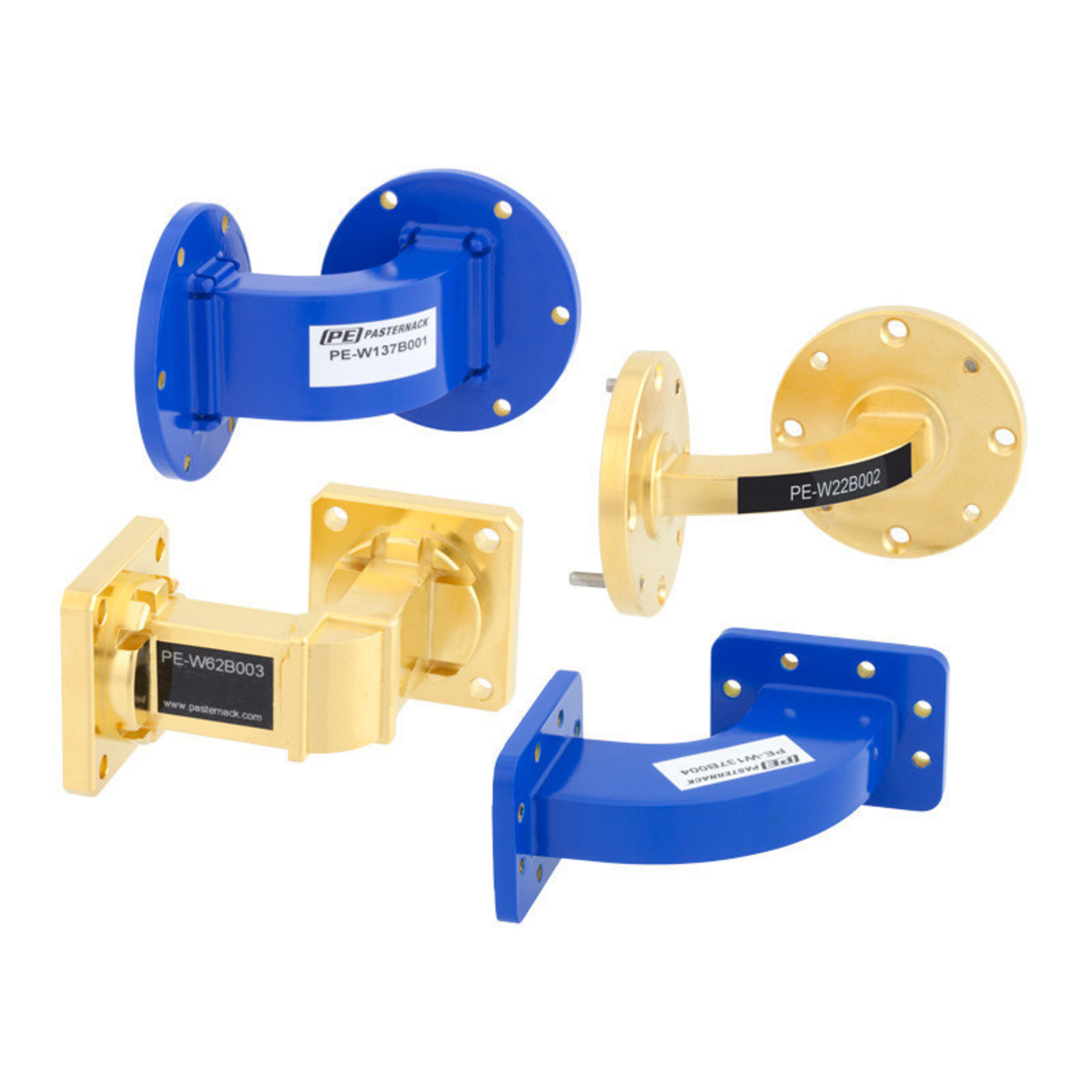 Pasternack Debuts New Lines of Waveguide Bends Up to 90 GHz across 12 Frequency Bands
