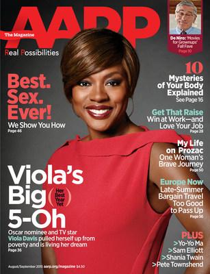 Viola Davis AARP The Magazine Cover
