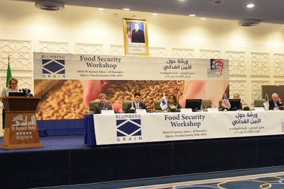Blumberg Grain, a leading US-based food security company, at the invitation of the Algerian Government, is visiting with government and business leaders in Algeria this week, about developing a food security program to reduce post-harvest losses.