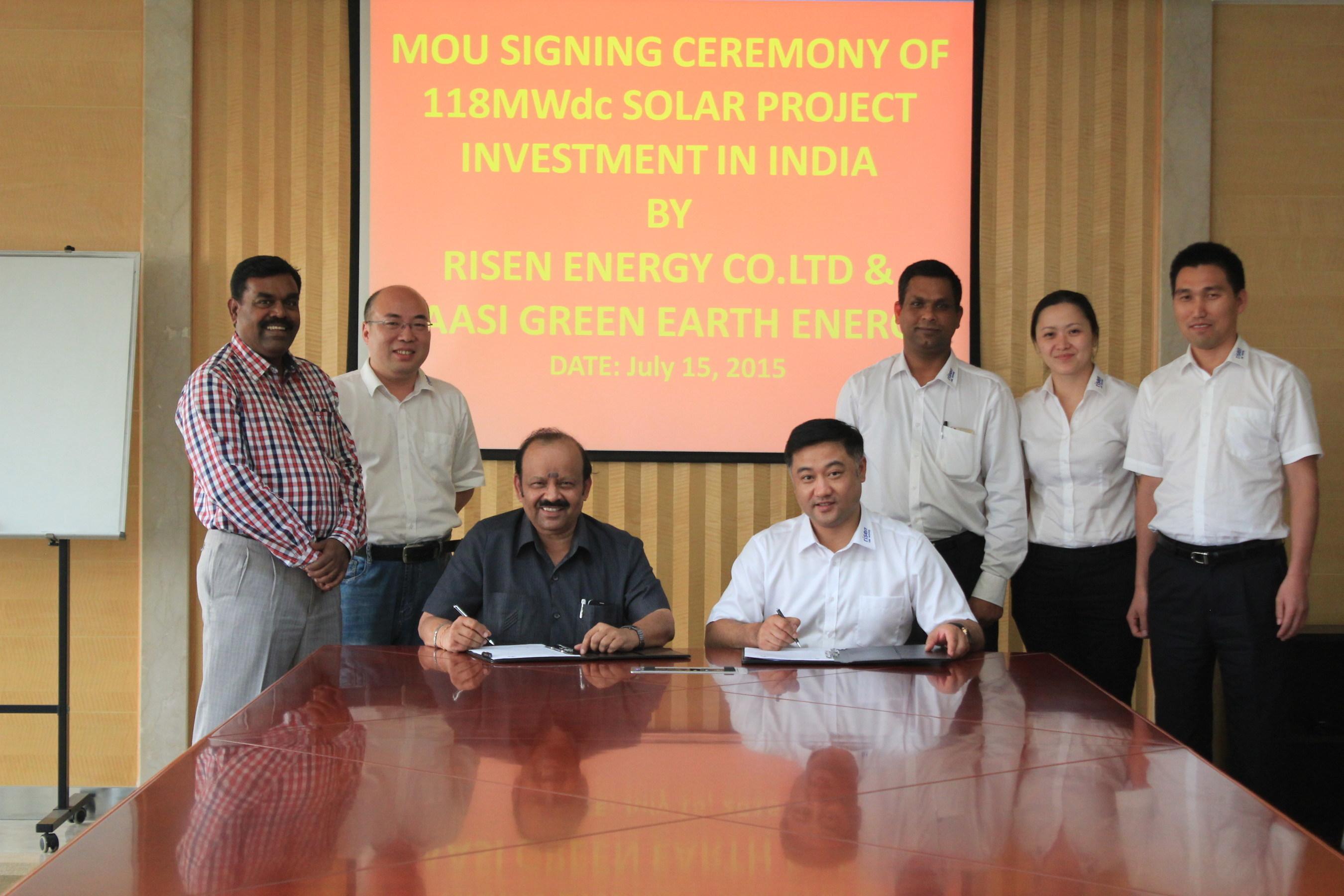 Risen Energy expande su éxito en India con inversión en proyecto de 100MWac