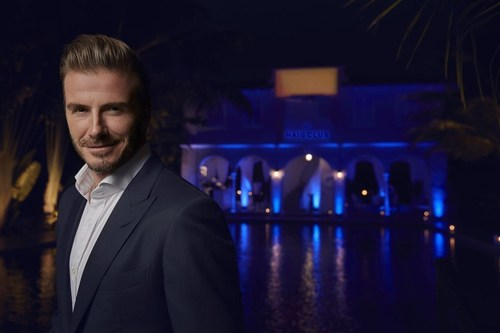 David Beckham hosts friends at a private HAIG CLUB(TM) event in Miami (PRNewsFoto/HAIG CLUB) (PRNewsFoto/HAIG CLUB)