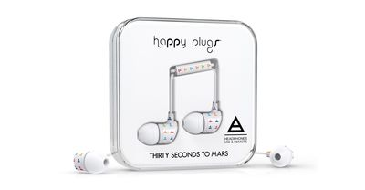 Happy Plugs Announce the Launch of Triad by Thirty Seconds to Mars Headphones (PRNewsFoto/Happy Plugs)