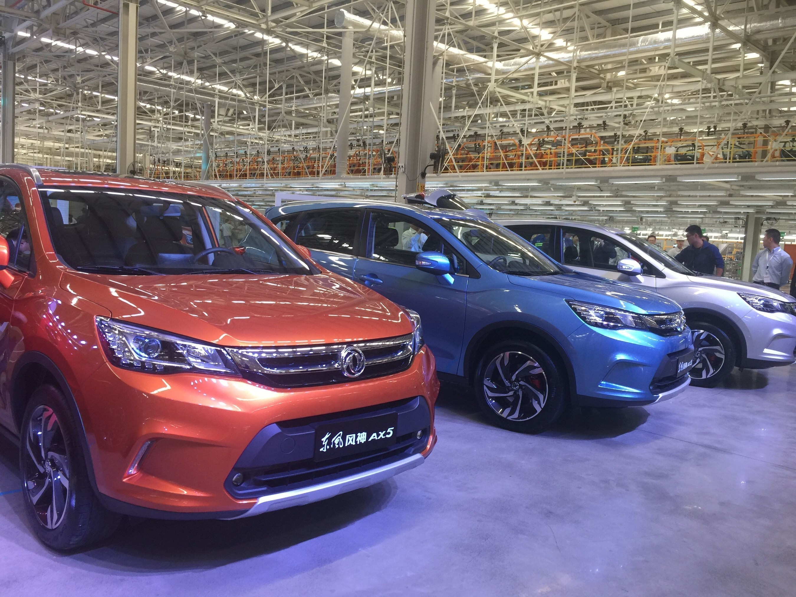 New Dongfeng SUV Model Starts to Roll Off the Production Line in Changzhou National Hi-Tech District