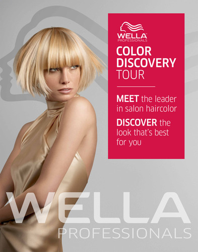 Wella Professionals Partners with Brooke Burke to Kick-Off Haircolor Discovery Tour