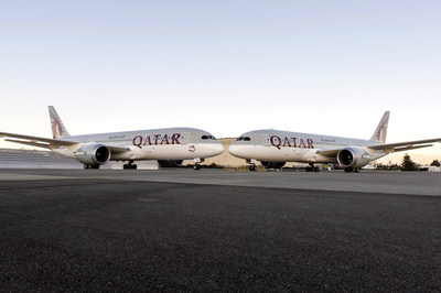 QATAR AIRWAYS TAKES DELIVERY OF ITS 24TH AND 25TH 787 DREAMLINERS WITH A CEREMONY AT BOEING'S EVERETT DELIVERY CENTER IN SEATTLE