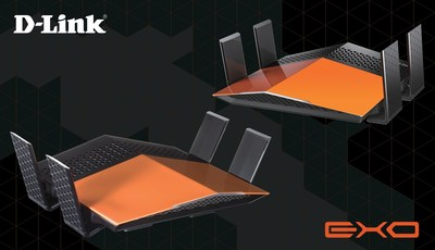 D-Link Line of EXO Routers Feature Premium Design and Powerful Performance