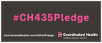 The campaign #CH435Pledge features free mammography exams administered by Coordinated Health's acclaimed breast-care team.