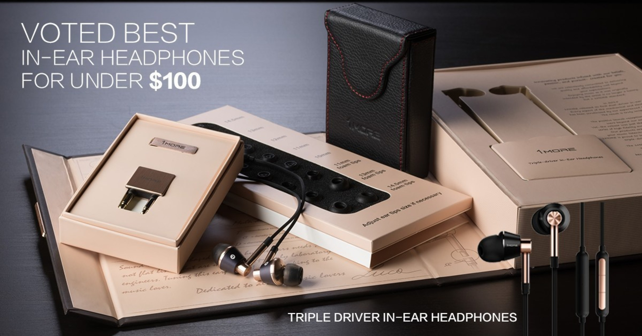 1MORE Headphones Quickly Making Waves With Industry Experts And Consumers