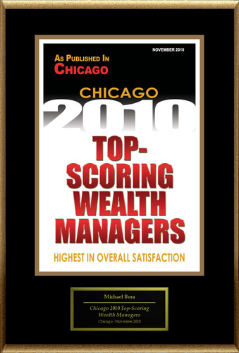 Michael Bora Selected for 'Chicago 2010 Top-Scoring Wealth Managers'