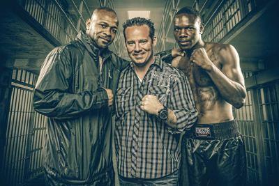 """Roy Jones Jr., Eric """"Babyface"""" Johnson, Keith Veltre with Sanctuary Management (PRNewsFoto/Sanctuary Management LTD)"""