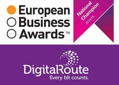 European Business Awards - DigitalRoute Logo (PRNewsFoto/DigitalRoute AB)