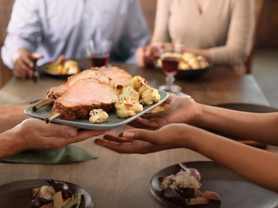 "To inspire people across the country to take the time to give and say thanks, the National Pork Board will celebrate ""Porksgiving,"" a time for giving back - with pork."