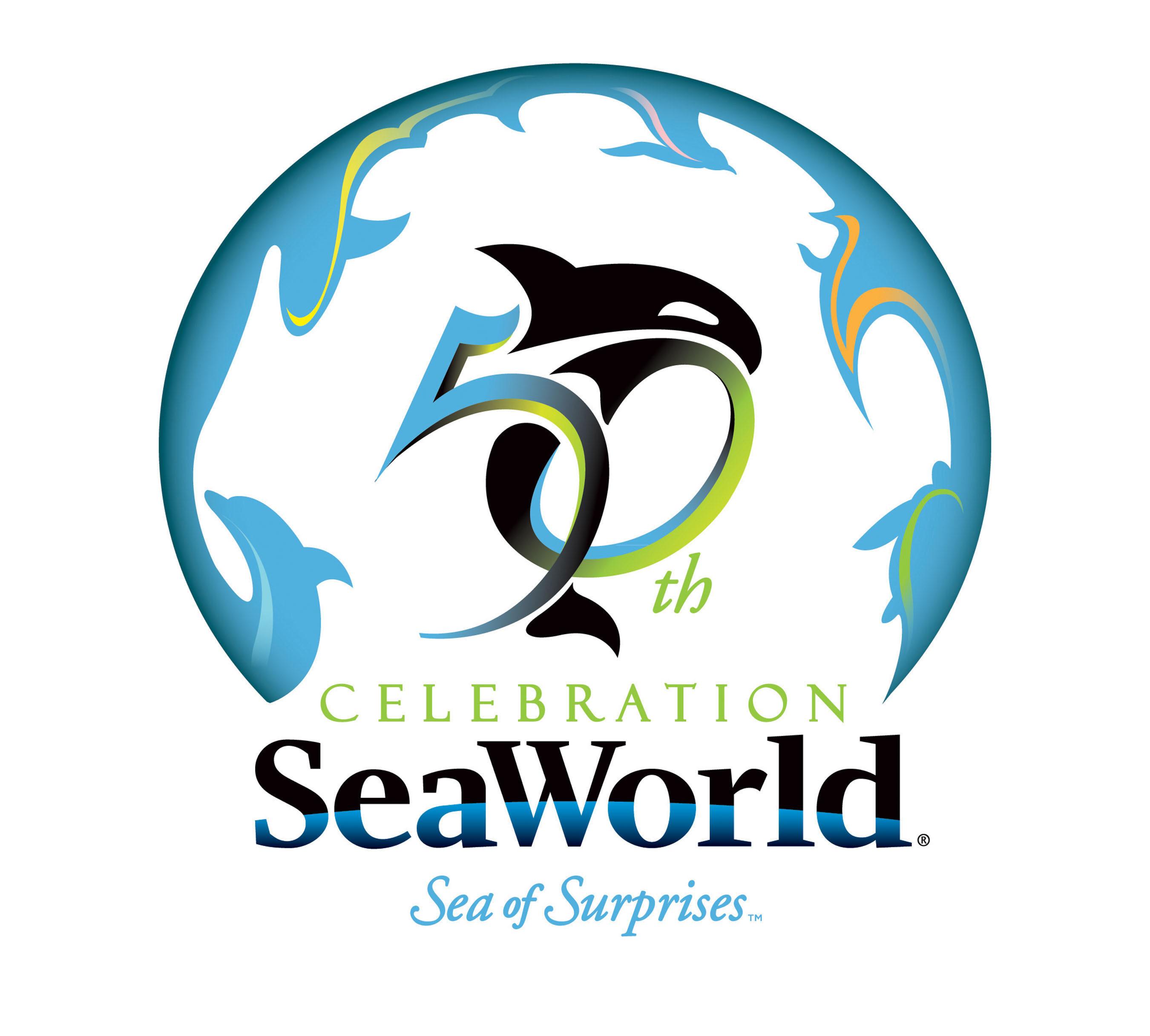 SeaWorld's 50th celebration is a Sea of Surprises. (PRNewsFoto/SeaWorld Parks & Entertainment) (PRNewsFoto/SEAWORLD PARKS & ENTERTAINMENT)