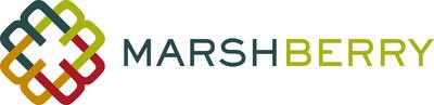 MarshBerry logo. (PRNewsFoto/MarshBerry)