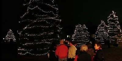 Hospice programs across the country host events for the community like this annual Festival of Lights at Hospice & Community Care in Lancaster, Pennsylvania.