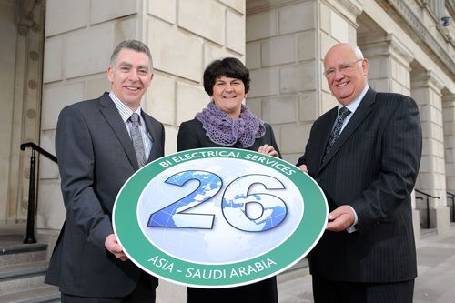 Northern Ireland's Enterprise Minister Announces 26 New Jobs for B.I. Electrical Services