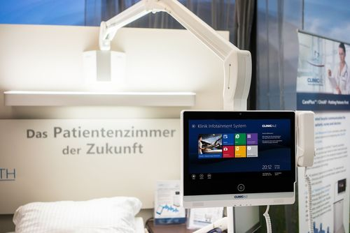 Groundbreaking step towards a cost-efficient future / ClinicAll equips an 81 bed clinic (PRNewsFoto/ClinicAll)